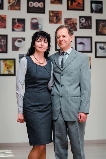 Daša Pechová a Dalibor Pecho (Foto: Ladislav Pavlík a Tomáš Benčík)